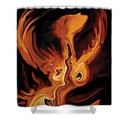 Angel Dance Shower Curtain