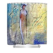 Angel Dust  Shower Curtain