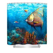 Angel Fish Shower Curtain
