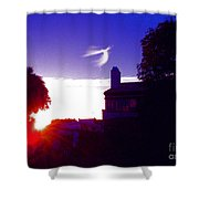 Angel Flight Shower Curtain