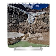 Angel Glacier Jasper 2 Shower Curtain