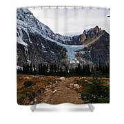 Angel Glacier Shower Curtain