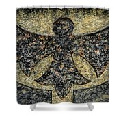 Angel In Stone Shower Curtain
