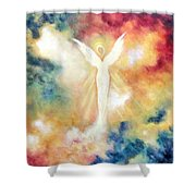 Angel Light Shower Curtain