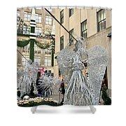 Angel New York City Shower Curtain