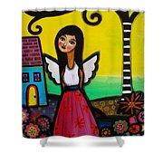 Angel Nilda Shower Curtain