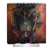 Angel Of Death Shower Curtain