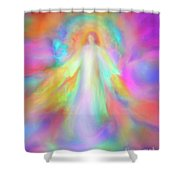 Angel Of Forgiveness And Compassion Shower Curtain