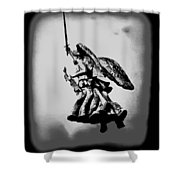 Angel Of Gettysburg Shower Curtain