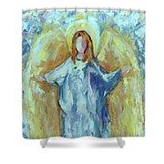 Angel Of Harmony Shower Curtain