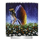 Angel Of Harmoy Shower Curtain