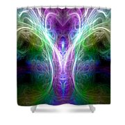 Angel Of Healing Shower Curtain