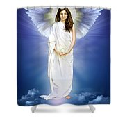 Angel Of Pure Light Shower Curtain