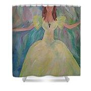 Angel Of Sunshine Shower Curtain