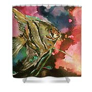 Angel Of The Sea Shower Curtain