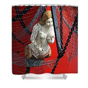 Angel Of The Seas Shower Curtain