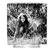 Angel Of The Wild Shower Curtain