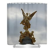 Angel On The Queen Victoria Memorial Shower Curtain