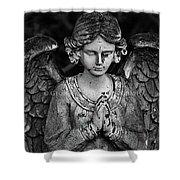 Angel Praying Shower Curtain