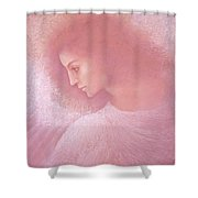 Angel Profile Shower Curtain