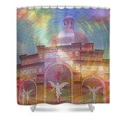 Angel Sanctuary Shower Curtain