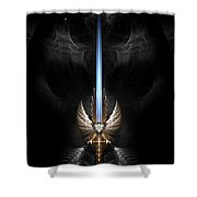 Angel Wing Sword Of Arkledious Dgs Shower Curtain