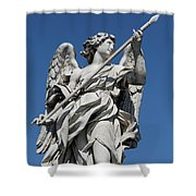 Angel With The Lance  Shower Curtain