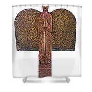 Angel002 Shower Curtain