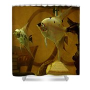 Angelfish Reflections Shower Curtain