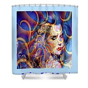 Angelic Beauty Shower Curtain