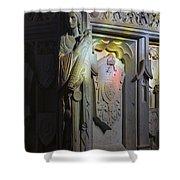 Angelic Escort Shower Curtain