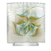 Angelic Forces Shower Curtain
