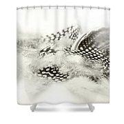 Angelic Message Shower Curtain