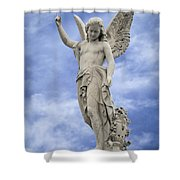 Angelic Peace And Beauty Shower Curtain