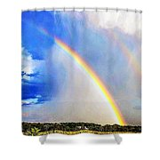 Angelic Towing Shower Curtain