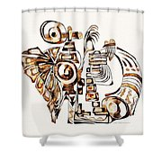 Angelic Tube 3637 Shower Curtain