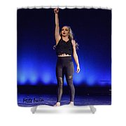 Angels 10 Shower Curtain