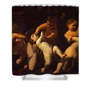Angels 1627 Shower Curtain