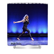 Angels 19 Shower Curtain