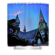 Angels Among Us - The Three Sisters Shower Curtain