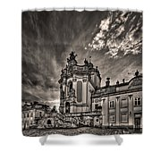 Angels And Demons Shower Curtain