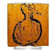 Angels And Devils - Sun Devil Shower Curtain