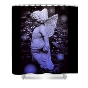 Angels And Fireflies Shower Curtain