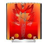 Angels - Archangel Sariel Shower Curtain