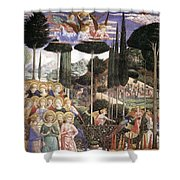 Angels Art Shower Curtain