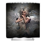 Angels Bliss Shower Curtain