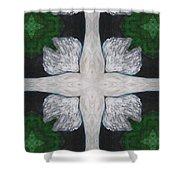 Angel's Cross Shower Curtain