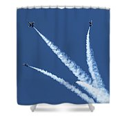 Angels Divide Shower Curtain