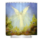 Angel's Garden Shower Curtain