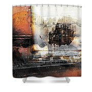 Angels In Former And Modern Times Shower Curtain